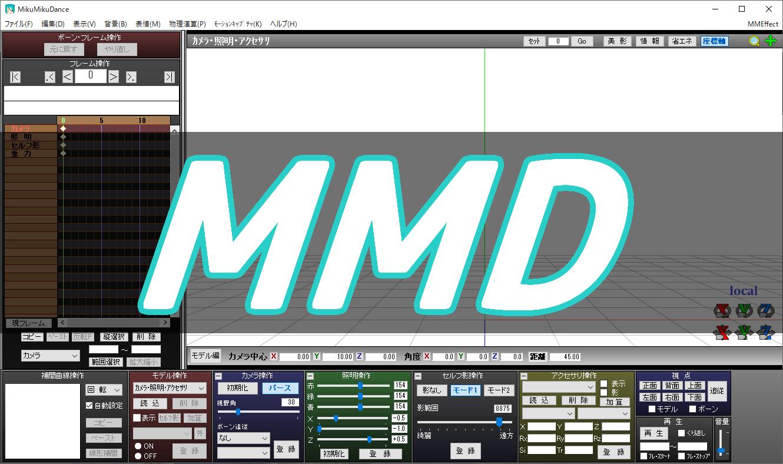 MMDのアイキャッチ画像