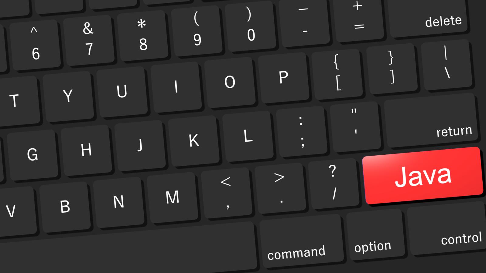 Java キーボード イメージ