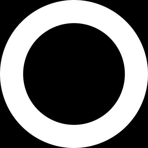 プログレスリングの画像素材 背景黒塗り